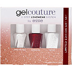Essie Gel Couture Holiday Longwear Nail Color 3 Piece Mini Kit