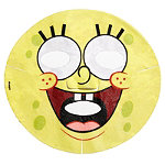 HipDot SpongeBob's Best Face Ever Face Mask