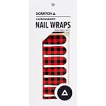 SCRATCH Timber Nail Wraps