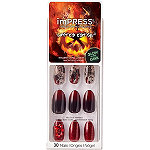 Kiss Run Away imPRESS Limited Edition Halloween Press-On Manicure