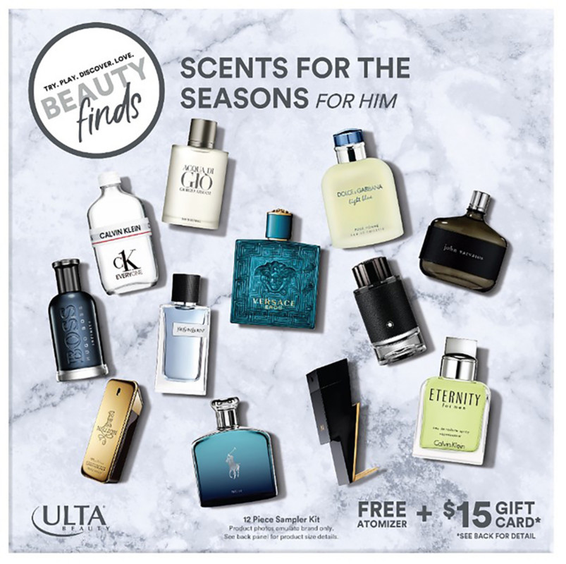 Beauty Scents For The Seasons For Her Sampler Kit
