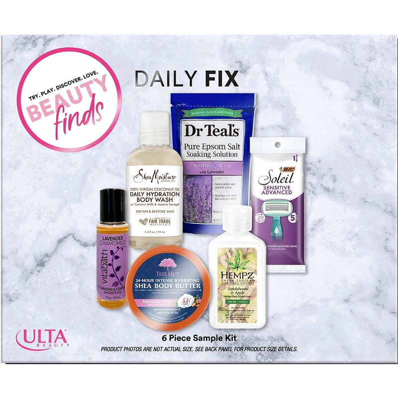 Ulta Daily Fix 6 Piece Sampler Kit Ulta Beauty