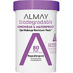 Almay Biodegradable Longwear & Waterproof Eye Makeup Remover Pads