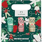 The Body Shop Christmassy Hand Cream Trio