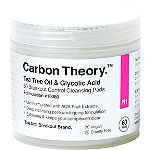 Carbon Theory. Tea Tree Oil & Glycolic Acid Breakout Control Cleansing Pads