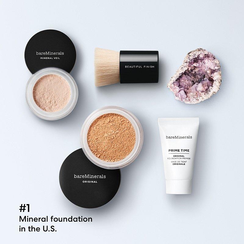 4 Piece Mineral Makeup Starter Set