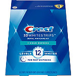 Crest 3D Whitestrips 1 Hour Express Dental Whitening Kit