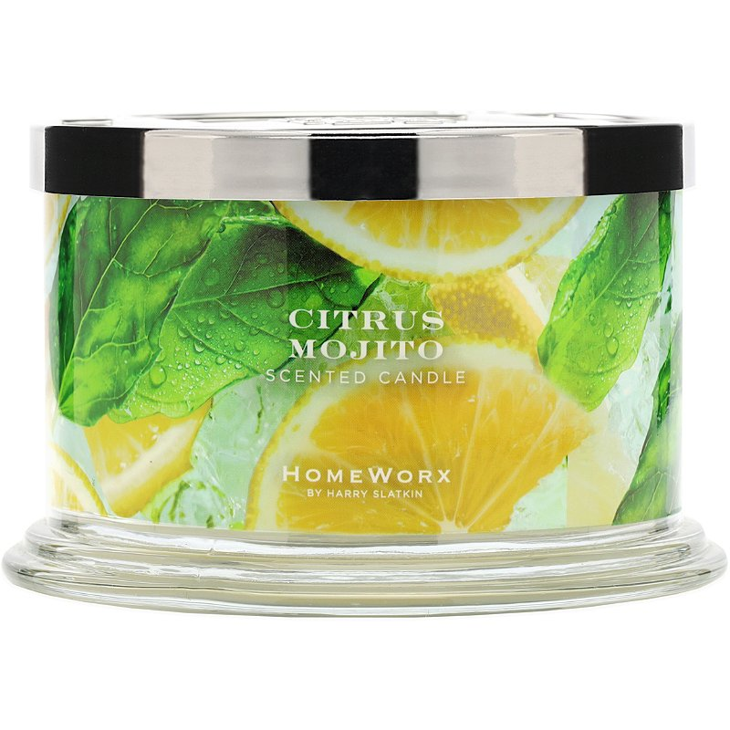 HomeWorx Citrus Mojito 4-Wick Candle