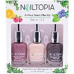 Nailtopia 3 Shades of Fall Skittle Mani Kit