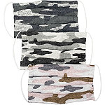 Kitsch Camo 100% Cotton Face Mask Set