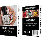 OPI Free 40th Anniversary Nail-Art Cards with $20 brand purchase