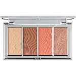 PÜR 4-in-1 Skin-Perfecting Powders Face Palette In Medium/Tan