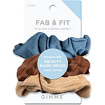 GIMME beauty Fab & Fit Variety Scrunchies