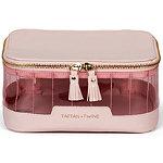 Tartan + Twine Pink Tinted PVC Cosmetic Box