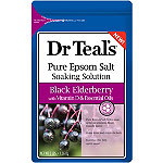 Dr Teal's Black Elderberry Pure Epsom Salt Soaking Solution