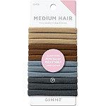 GIMME beauty Medium Hair Multi-Color Neutral Bands
