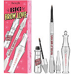 Benefit Cosmetics Big Brow Love Full Size Eyebrow Pencil & Gel Value Set