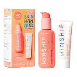 Kinship Skin Win Duo 2-Piece Cleanser + SPF Skincare Set