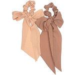 Kitsch Terra Cotta Crepe Scarf Scrunchie Set