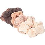 Kitsch Terra Cotta Crepe Scrunchie Set