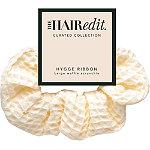 The Hair Edit Cream Hygge Ribbon Scrunchie