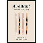 The Hair Edit Marble Pins Bobby Pin Set