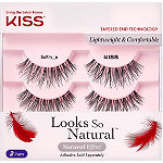 Kiss Looks So Natural Lash Double Pack, Sultry