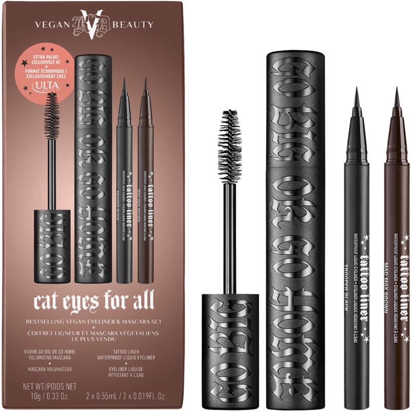 KVD Beauty Cat Eyes For All Bestselling Vegan Eyeliner & Mascara Set