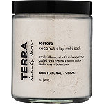 Terra Beauty Bars Restore Coconut Clay Milk Bath Soak