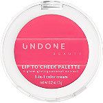 Undone Beauty Lip to Cheek Cream Palette