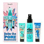 Benefit Cosmetics Join the POREfessionals Mini Primer & Setting Spray Trio