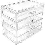 Sorbus Cosmetics Makeup and Jewelry Large Drawer Storage Case Display