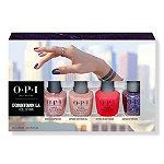 OPI Downtown LA Nail Lacquer Mini 4 Pack