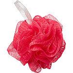 Sweet & Shimmer Pink Shower Pouf