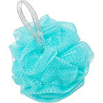 Sweet & Shimmer Blue Shower Pouf