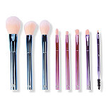 BH Cosmetics IGGY The Total Package - 8 Piece Face & Eye Brush Set with Wrap