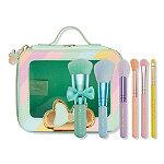 Spectrum Minnie Minis 6 Piece Travel Brush Set and Bag