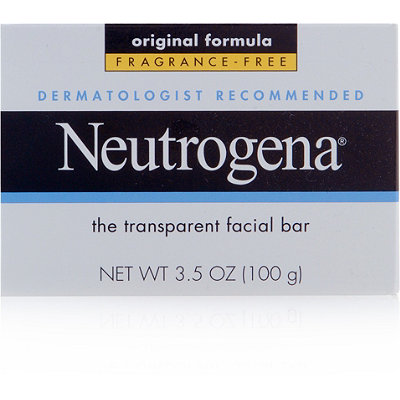 Neutrogena Transparent Facial Bar Original Fragrance Free