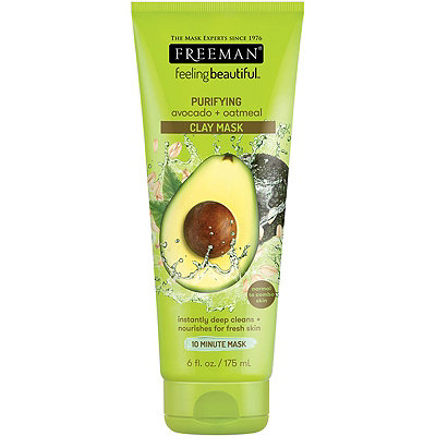 Feeling Beautiful Avocado & Oatmeal Facial Clay Mask