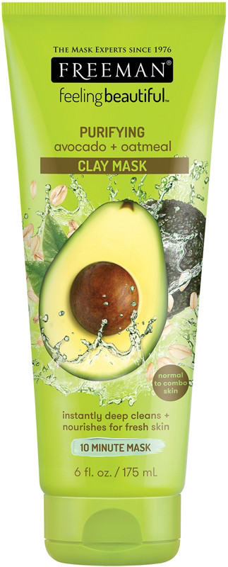 Avocado &Amp; Oatmeal Facial Clay Mask by Feeling Beautiful