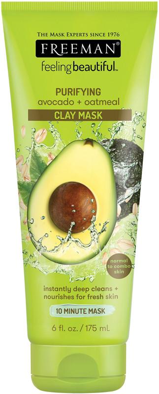 Avocado & Oatmeal Facial Clay Mask by Feeling Beautiful