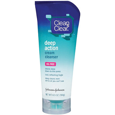 Clean & Clear Deep Action Creme Cleanser