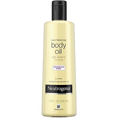 Body Oil Light Sesame Formula Fragrance Free