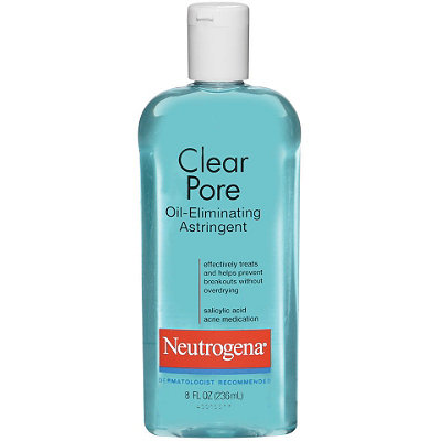 Image result for Clear Pore Oil-Eliminating Astringent by Neutrogena