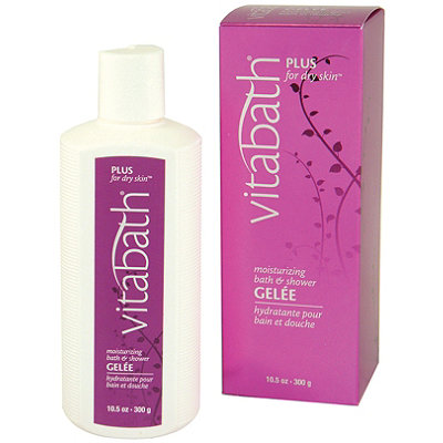 VitabathPlus for Dry Skin Moisturizing Bath and Shower Gelee