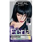 L'Oréal Feria Multi-Faceted Shimmering Colour Bright Black 21