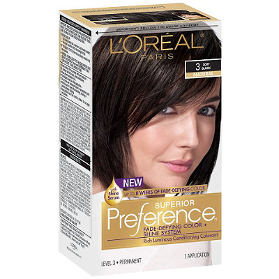 L'Oréal Superior Preference Fade-Defying Color %26 Shine