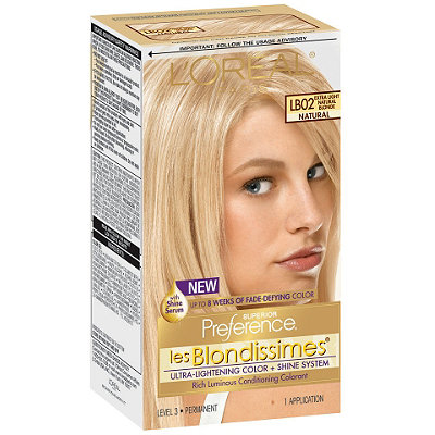 L'Oréal les Blondissimes Permanent Hair Color