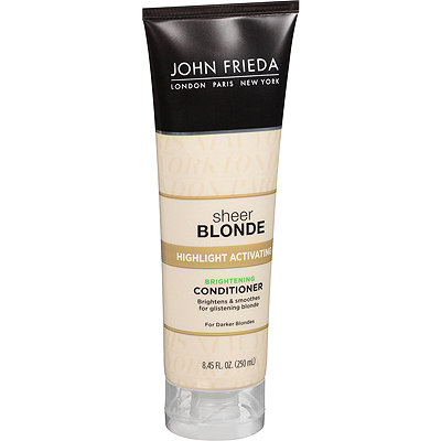 John Frieda Sheer Blonde Highlight Activating Enhancing Conditioner For Darker Blondes