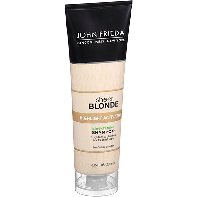 John Frieda Sheer Blonde Highlight Activating Enhancing Shampoo-Darker Shades